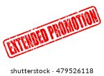 extended promotion red stamp...   Shutterstock .eps vector #479526118