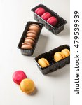 french dessert. macarons with... | Shutterstock . vector #479539939