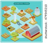 image of an isometric farm... | Shutterstock . vector #479545210
