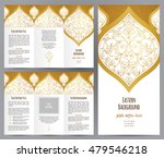 ornate vintage booklet with... | Shutterstock .eps vector #479546218