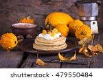 Pumpkin Pancakes. Autumn Still...