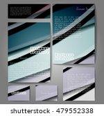 corporate identity template set.... | Shutterstock .eps vector #479552338