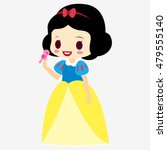 Princess Snow White. Doll...