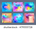 chaotic geometric backgrounds... | Shutterstock .eps vector #479555728