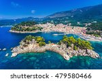 parga greece and panagia island ... | Shutterstock . vector #479580466