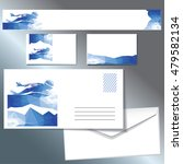 template for sports envelopes ... | Shutterstock .eps vector #479582134