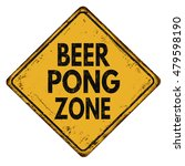 beer pong zone vintage rusty...   Shutterstock .eps vector #479598190