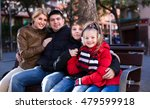 average family with two kids... | Shutterstock . vector #479599918
