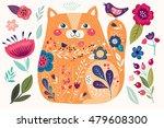 art vector colorful... | Shutterstock .eps vector #479608300