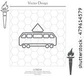 tram icon | Shutterstock .eps vector #479614579