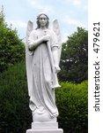 angel sculpture. angel with... | Shutterstock . vector #479621