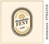beer festival oktoberfest... | Shutterstock .eps vector #479621518