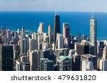 The Famous Chicago Skyline Late ...