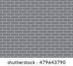 Gray Brick Wall Pattern...