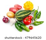 still life of fresh vegetables... | Shutterstock . vector #479645620