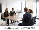 businesspeople working together ... | Shutterstock . vector #479657788