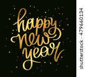 quote happy new year. the trend ... | Shutterstock .eps vector #479660134