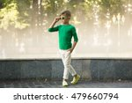 stylish little boy in... | Shutterstock . vector #479660794