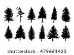 vector set silhouette of... | Shutterstock .eps vector #479661433