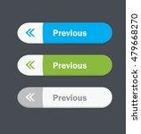 set of vector web interface... | Shutterstock .eps vector #479668270