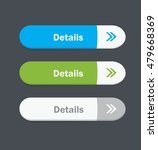 set of vector web interface... | Shutterstock .eps vector #479668369