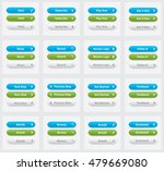 set of vector web interface... | Shutterstock .eps vector #479669080