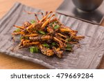 Fried Insects   Grasshopper...