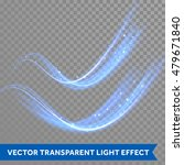 vector magic blue glowing spark ... | Shutterstock .eps vector #479671840