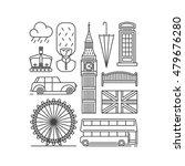 united kingdom  london city ...   Shutterstock .eps vector #479676280