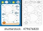 preschool worksheet for... | Shutterstock .eps vector #479676820