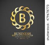 vector letter b business sign... | Shutterstock .eps vector #479678773