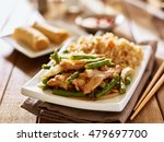 chinese greenbean and chicken... | Shutterstock . vector #479697700