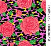 seamless elegant vintage floral ... | Shutterstock .eps vector #479710534