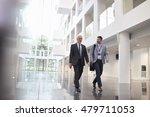 businessmen talking as they... | Shutterstock . vector #479711053