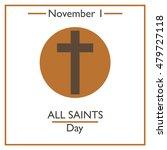 all saints day. november 1.