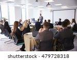 delegates applauding... | Shutterstock . vector #479728318