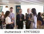delegates networking at... | Shutterstock . vector #479733823