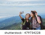 asian tourists are enjoying the ... | Shutterstock . vector #479734228