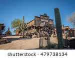Goldfield  Arizona  Usa   May...