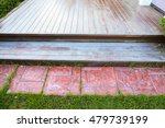 old wood floor and  tiled at... | Shutterstock . vector #479739199