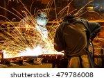 welder industrial automotive... | Shutterstock . vector #479786008