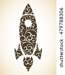 vintage ornamental decorative... | Shutterstock .eps vector #479788306