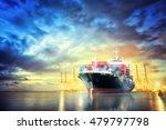 logistics and transportation of ... | Shutterstock . vector #479797798