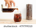 cold brew iced coffee  | Shutterstock . vector #479799310