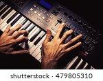 details of a modern midi... | Shutterstock . vector #479805310