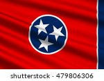 flag of tennessee is a state of ... | Shutterstock . vector #479806306