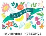 vector illustration of floral... | Shutterstock .eps vector #479810428