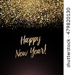 happy new year card with... | Shutterstock .eps vector #479820130