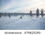 Winter Landscape In Lapland ...