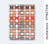 abstract vector line design for ... | Shutterstock .eps vector #479827348
